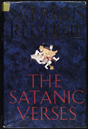 One of the many editions of Salman Rushdie's The Satanic Verses